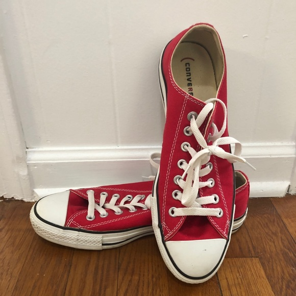 Converse Shoes | Mens Red Size 9 | Poshmark